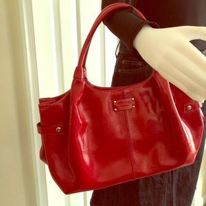 Kate Spade Red Leather Purse Bag